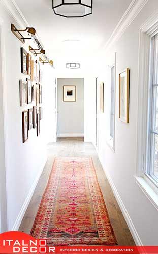 انتخاب رنگ دیوار راه پله و راهرو