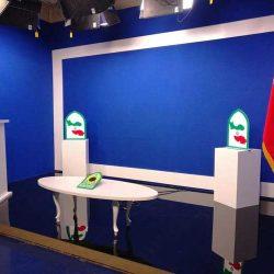 طراحی و اجرای دکور استودیو ناجا